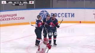 Красноярские Рыси-Ростов. 15.01.2019. Видеообзор матча.