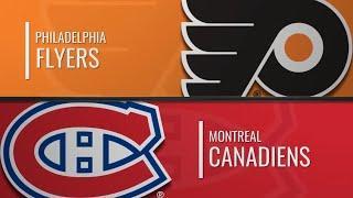 Монреаль Канадиенс-Филадельфия Флайерз (30.11.2019)