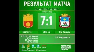 Обзор матча Крепость (2007) - Кашира (2007)
