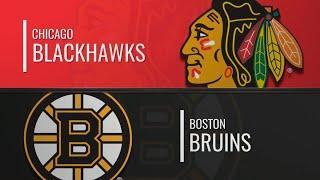 Бостон Брюинз-Чикаго Блэкхоукс (05.12.2019)