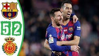 7.12.19 Барселона - Мальорка - 5:2. Обзор матча