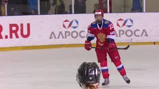 Выставочный матч. Женщины. Россия - Япония - 4:1. Видеообзор