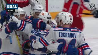Barabanov scores his first KHL hat-trick
