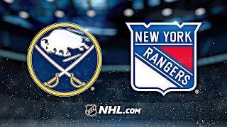 Баффало - Рейнджерс 2.04.21 НХЛ НА РУССКОМ | ОБЗОР МАТЧА