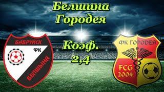 Белшина - Городея / Беларусь : Высшая Лига 3.04.2020