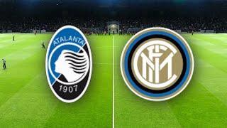 Аталанта - Интер обзор матча Серия А футбол PES 2020