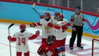 Россия - Канада. 6:2. Групповой этап. Хоккей. Юношеские Олимпийские игры 2020
