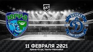 Видеообзор матча ВХЛ Югра - Динамо СПб (4:2)