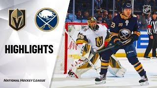 Vegas Golden Knights vs Buffalo Sabres | Jan.14, 2020 | Game Highlights | NHL 2019/20 | Обзор матча