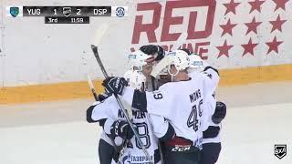 Видеообзор матча ВХЛ Югра - Динамо (2:3), 04.12.2018