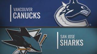 Ванкувер - Сан-Хосе | Vancouver Canucks vs San Jose Sharks  | НХЛ обзор матчей 02.11.2019г.