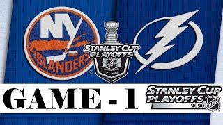 Нью-Йорк Айлендерс - Тампа-Бэй Лайтнинг | Финал Восточной Конференции | Game 1 | Stanley Cup 2020