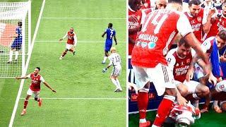 Обамеянг УНИЧТОЖИЛ Челси в финале Кубка Англии, а потом УРОНИЛ кубок. Арсенал - Челси 2:1