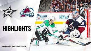 Dallas Stars vs Colorado Avalanche | Jan.14, 2020 | Game Highlights | NHL 2019/20 | Обзор матча