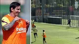 Месси забил ГЕНИАЛЬНЫЙ гол на тренировке! Мальорка - Барселона уже скоро! Лучшие футбольные видео