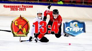 СКА-Нефтяник - Старт - 13:4. Обзор матча