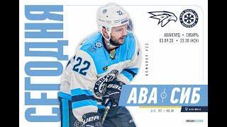 Северсталь vs Сибирь | Лучшие моменты матча | КХЛ | 7.09.2020
