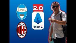 СПАЛ - Милан 01.07.2020 Серия А обзор матча