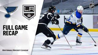 St. Louis Blues vs Los Angeles Kings | Mar.05, 2021 | Game Highlights | NHL 2021 | Обзор матча