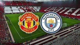 Манчестер Юнайтед - Манчестер Сити обзор матча АПЛ футбол PES 2020