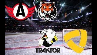 Автомобилист - Амур / Трактор - Северсталь / Хоккей / Стрим