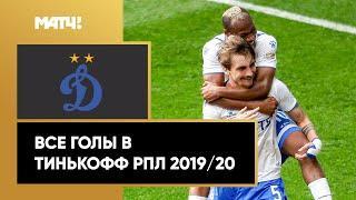 Все голы «Динамо» в Тинькофф РПЛ сезона 2019/20
