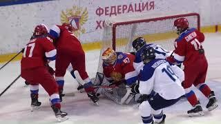Турнир пяти наций W. Россия - Финляндия. Видеообзор