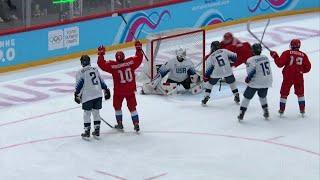 Россия - США. 4:0. Финал. Хоккей. Юношеские Олимпийские игры 2020