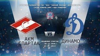 Акм.Спартак - Динамо
