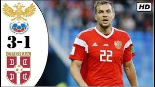 Россия - Сербия 3-1 | Лига Наций | Обзор матча | 03.09.2020 HD