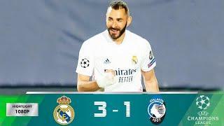 Реал Мадрид Аталанта 3 - 1. Обзор матча и голы. 16.03.2021