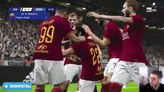 PES 2020. Ювентус - Рома