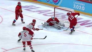 Россия - Дания. 9:0. Групповой этап. Хоккей. Юношеские Олимпийские игры 2020