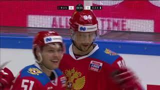 ШВЕДСКИЕ ХОККЕЙНЫЕ ИГРЫ-2021. Россия — Чехия. Обзор матча