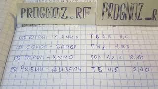 Кф., 3.0 Рубин-Дизель/Торос-Хумо/Сокол-Барс/Югра-Химик прогнозы ВХЛ