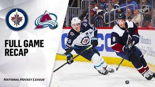 Winnipeg Jets vs Colorado Avalanche | Dec.31, 2019 | Game Highlights | NHL 2019/20 | Обзор матча