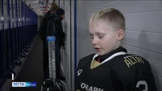 Юные хоккеисты из алтайского села обыграли городских соперников