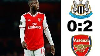 Ньюкасл Юнайтед - Арсенал Лондон 0-2 Обзор Матча