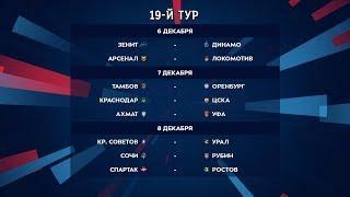 Российская премьер-лига. Обзор 19-го тура