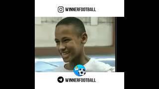 Неймар в детстве. Neymar as a child.