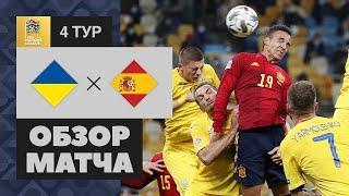 13.10.2020 Украина - Испания - 1:0. Обзор матча