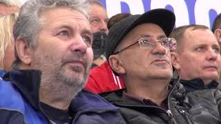 Первый матч в ледовом дворце «Байкал» - ВИДЕОСЮЖЕТ «Альтаира»