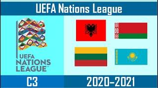 2020–21 UEFA Nations League - C4 - Albania, Belarus, Lithuania, Kazakhstan