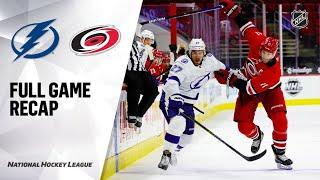Tampa Bay Lightning vs Carolina Hurricanes | Jan.30, 2021 | Game Highlights | NHL 2021 | Обзор матча