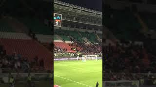 Фанаты Ахмата атакуют ультру Зенита