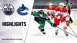 Edmonton Oilers vs Vancouver Canucks | Feb.23, 2021 | Game Highlights | NHL 2021 | Обзор матча