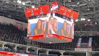 Певица Максим на хоккейном матче Спартак-Цска 01.10 2020 Арена ЦСКА