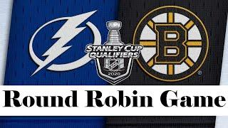 Tampa Bay Lightning vs Boston Bruins | Aug.05, 2020 | Round Robin Game | NHL 2019/20 | Обзор матча