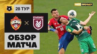 12.07.2020 ЦСКА - Рубин - 1:1. Обзор матча
