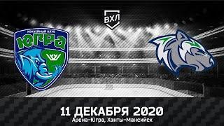 Видеообзор матча ВХЛ Югра - Горняк (2:1)